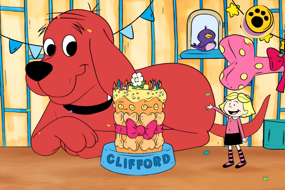 Screenshot Clifford's BIG Birthday